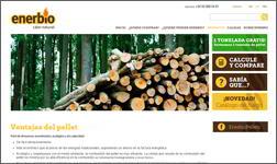 L'agència Ibidem Group col·labora amb Enerbio traduint a Italiàla seva web de pèl·lets de fusta.